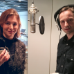 Lenka a Jaroslav ve studiu Talents Room