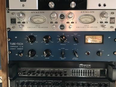 studio rack v Talents Room